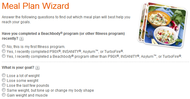Meal Plan Wizard