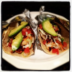 Slightly Blackened Fish Tacos