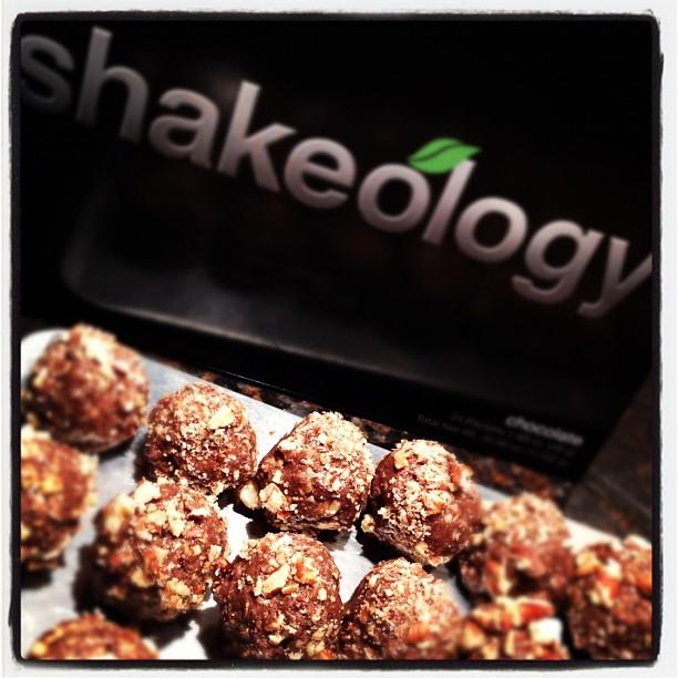 Cocoa Ameretto Shakeology Truffles