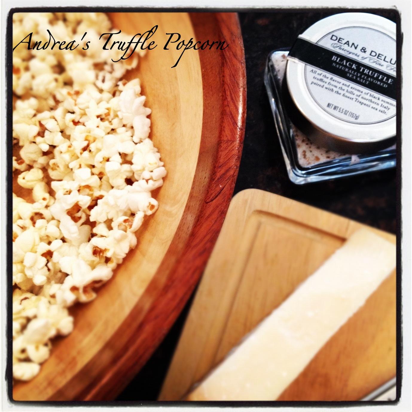 Andrea's Truffle Popcorn