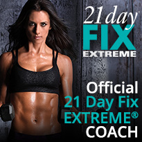 I'm your Official 21 Day Fix EXTREME Coach!