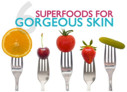 6 Superfoods for Gorgeous Skin