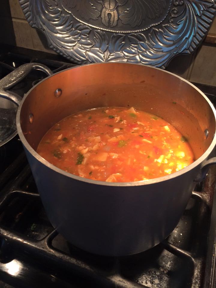 No Diet Diva's ROCKING Tortilla Soup!
