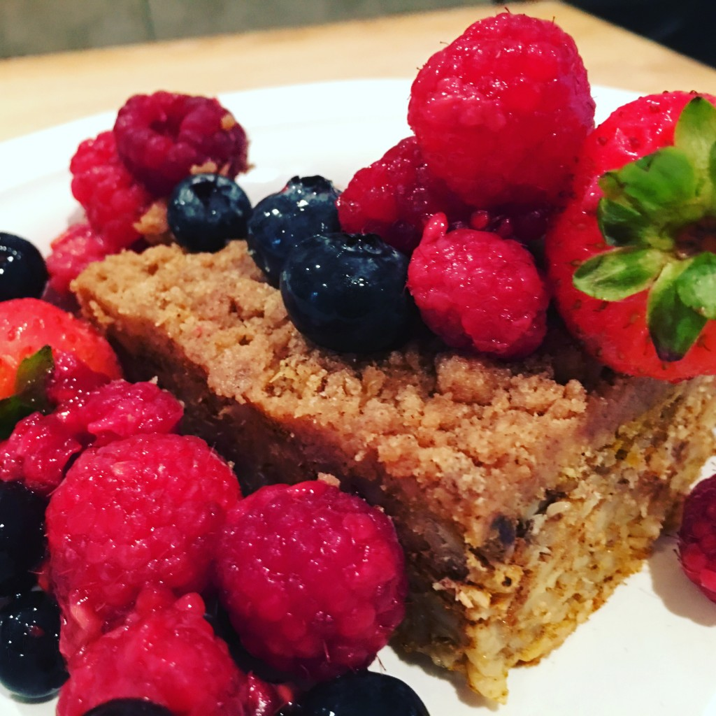 Pumpkin Protein Coffee Cake