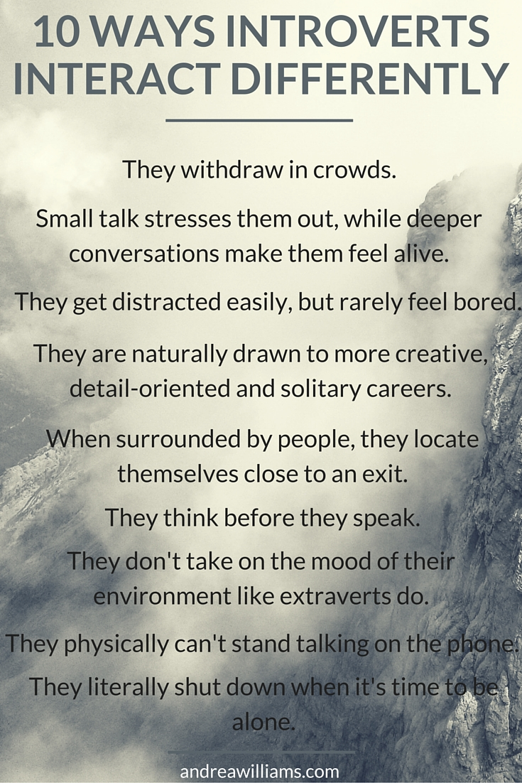 10 Ways Introverts Interact Differently