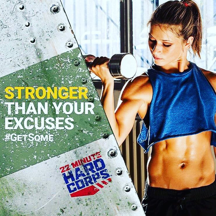 22 Minute Hard Corps! Bootcamp inspired workout