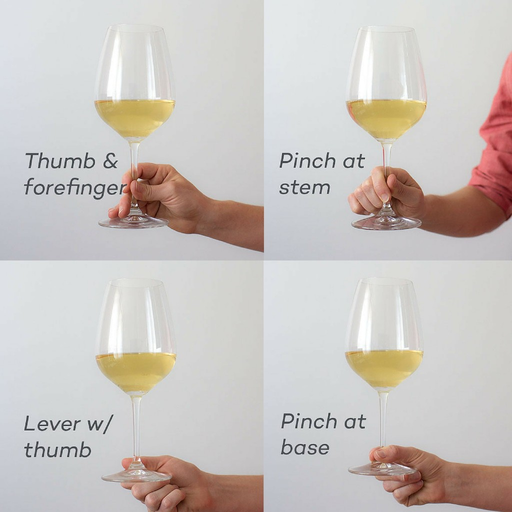 Ways To Hold A Wine Glass That Pass The Social Etiquette