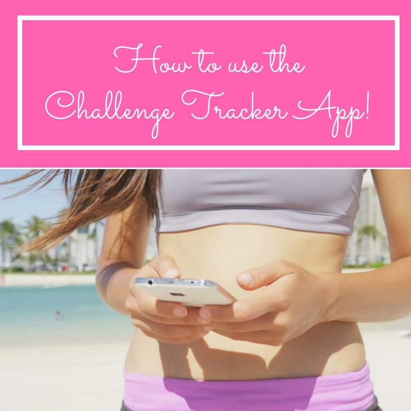 How to use theChallenge Tracker App!