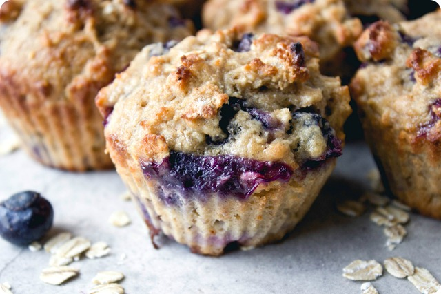 Andrea's Blueberry Power Muffins