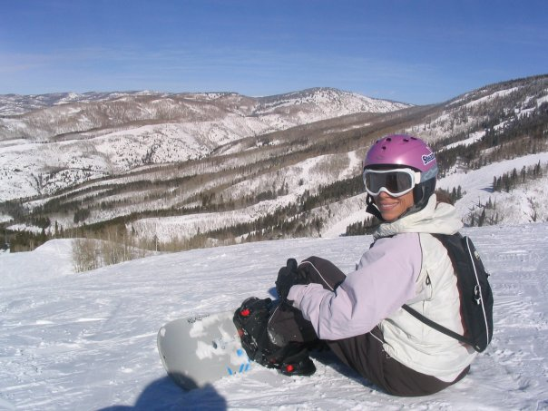 Andrea in Steamboat