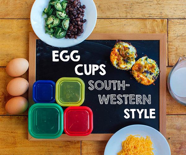 Southwestern Tex-Mex Egg Cups
