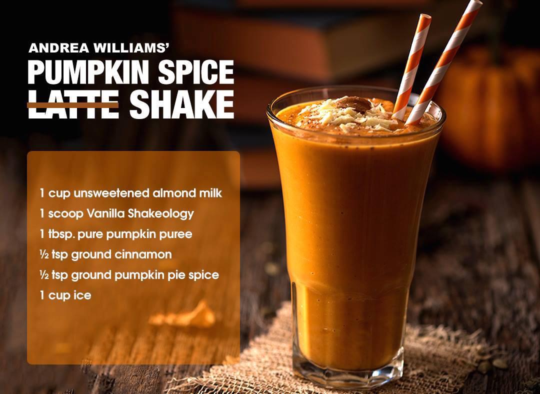 Pumpkin Spice Superfood Shake