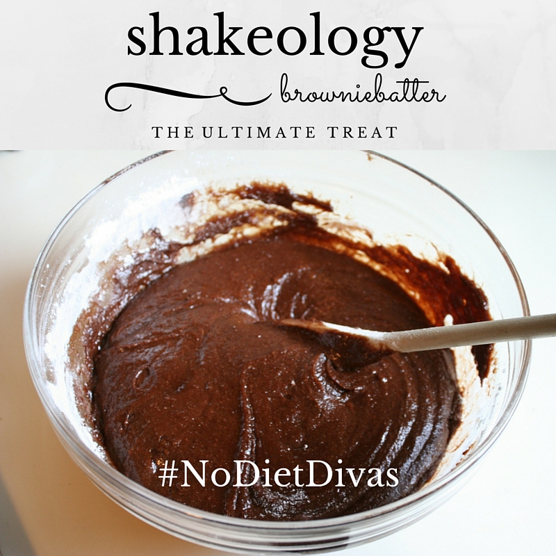 shakeology brownie batter! feel free to lick the spoon :-)