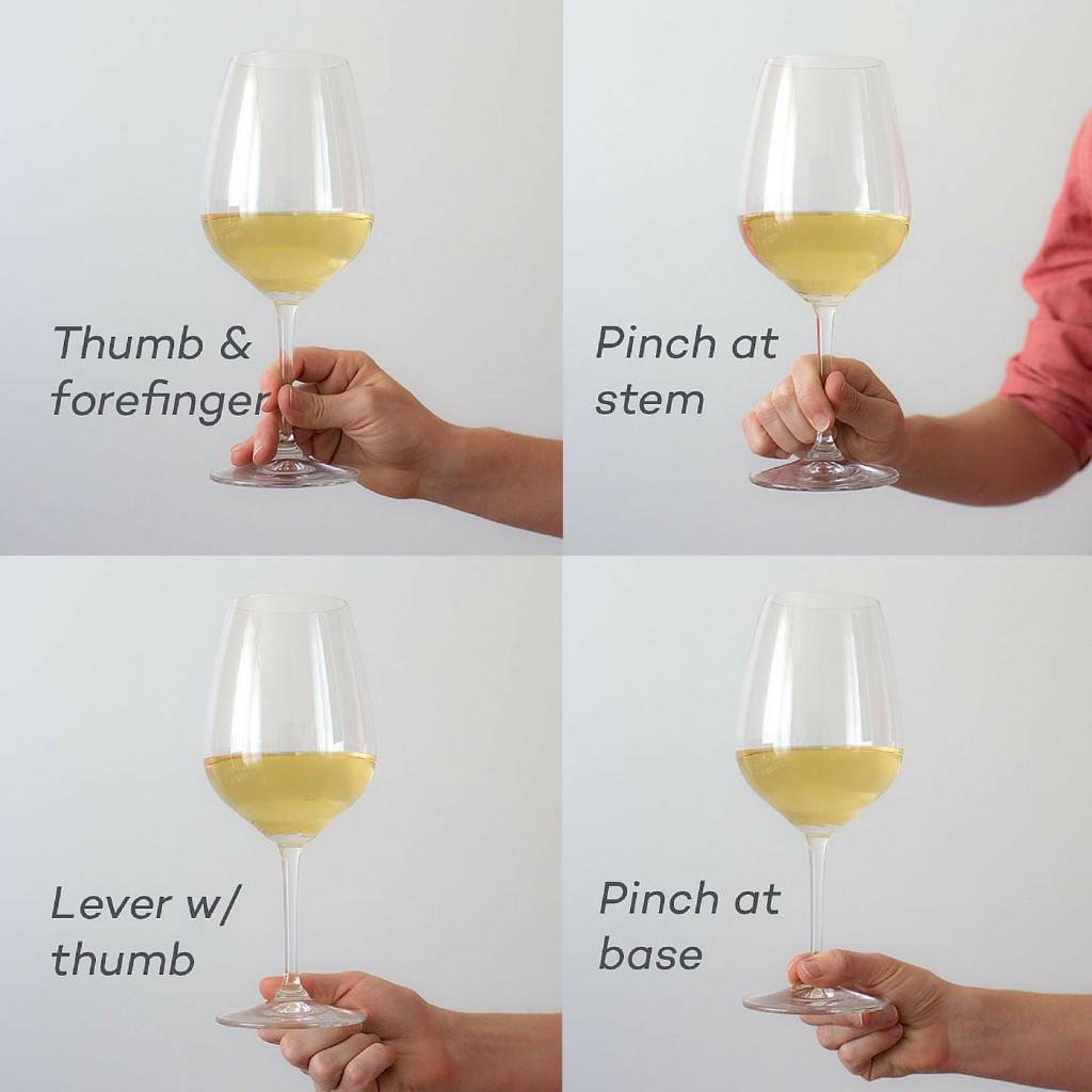 Hold a wine glass like a PRO!