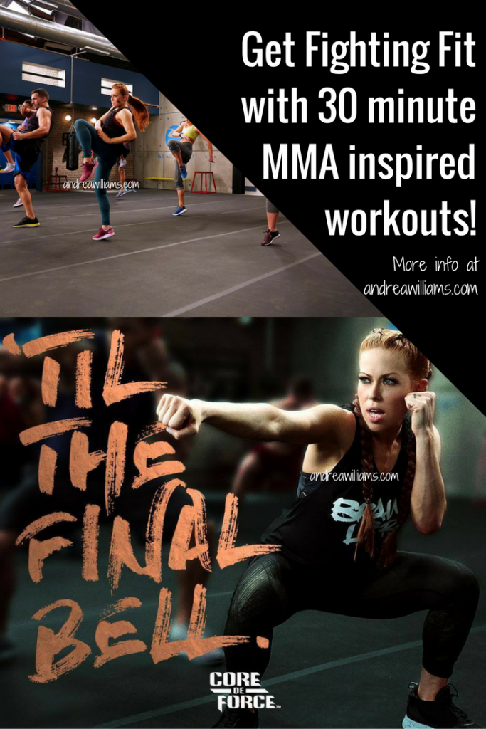 Get Fighting Fit in 30 minutes with Core De Force!